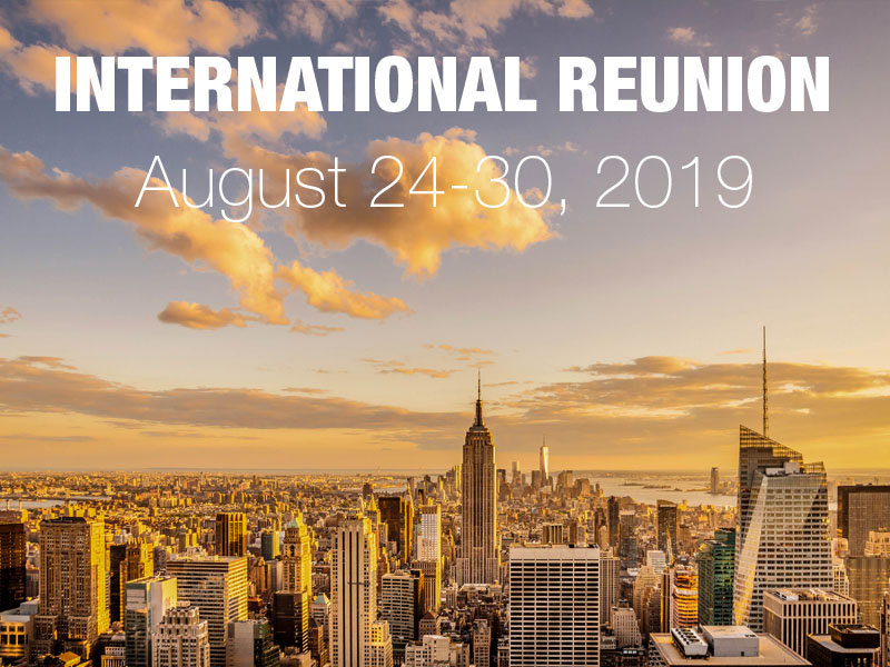 international reunion 2019
